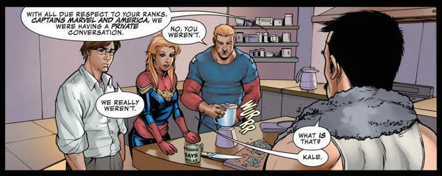 Avengers Assemble #9. Written by Kelly Sue DeConnick. Art by Stefano Caselli. November 14 2012. Marvel Comics.
