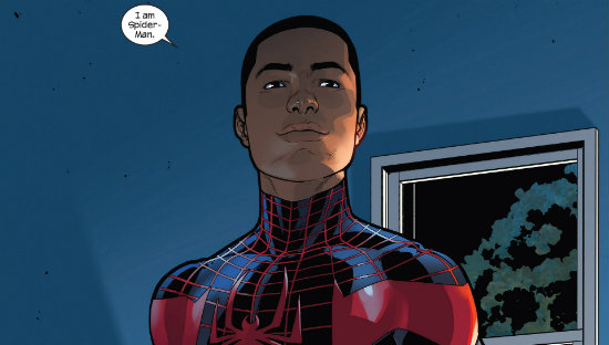 Miles Morales. Spider-Man. Marvel Comics.