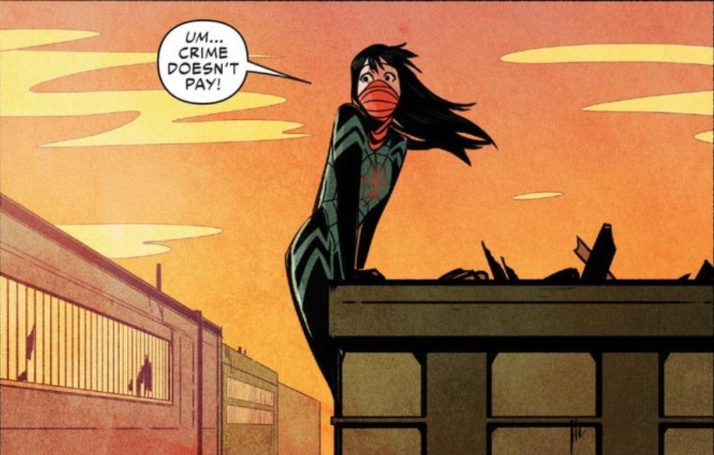 Silk #1. Cindy Moon. Marvel.  February 18, 2014. Comics.