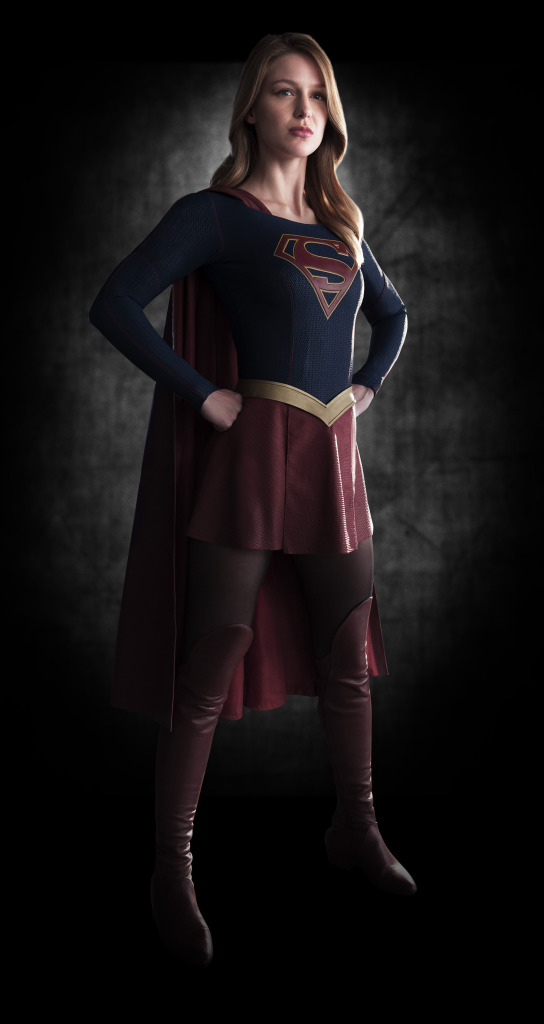CBS. Supergirl. Melissa Benoist. Promo Photo: March 6, 2015. Warner Bros. DC Comics.